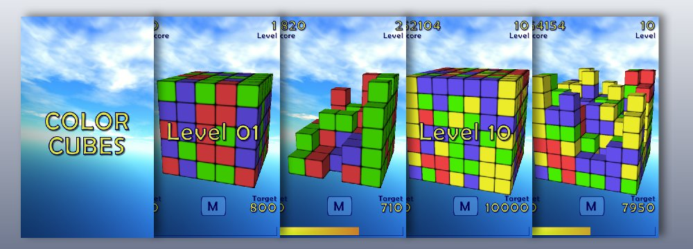 Color Cubes Screens